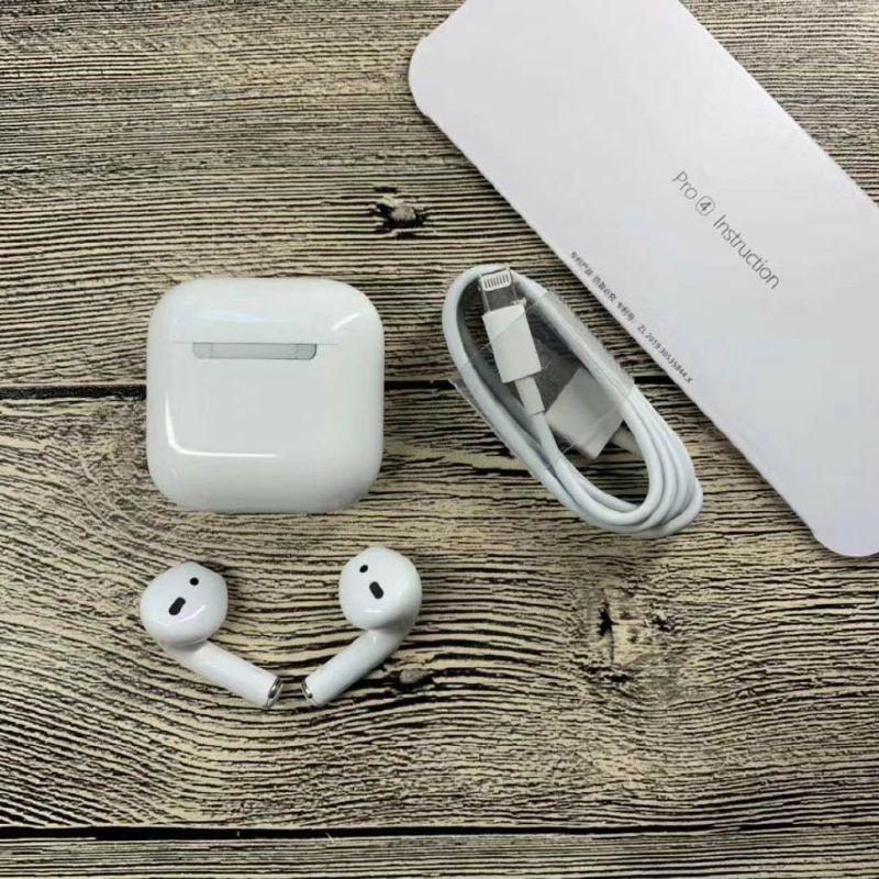 Tai nghe bluetooth Airpod Mini pro 4 ( Hàng Hịn Bao Phê)