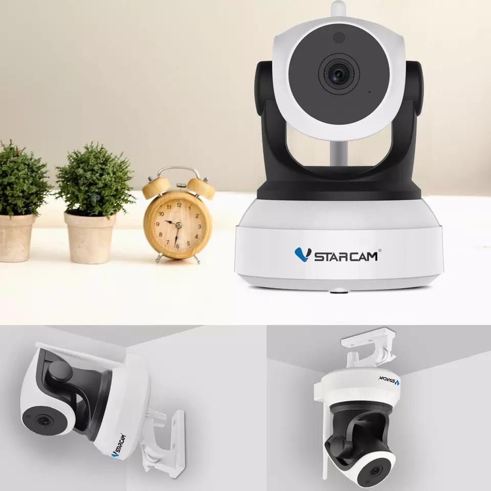 Camera IP Wifi VStarcam C24s 2.0 - Full HD 1080p , Kèm thẻ nhớ 64GB A1 Lexar  - Hàng chính hãng