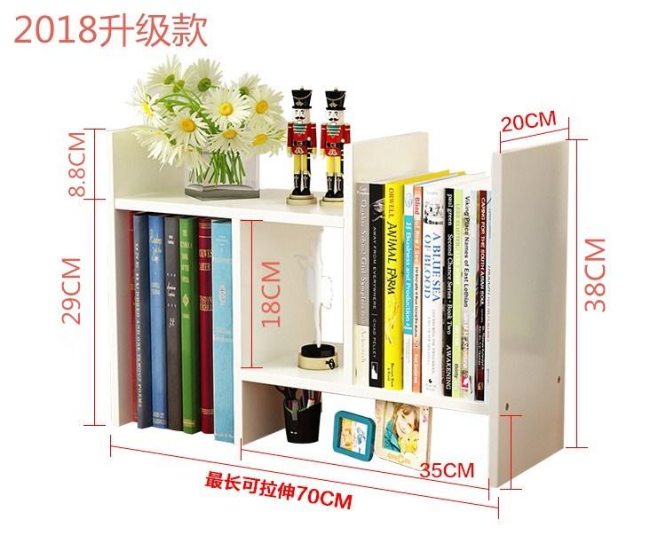 Kệ sách -  giá sách văn phòng H66 ( Màu Ngẫu Nhiên )