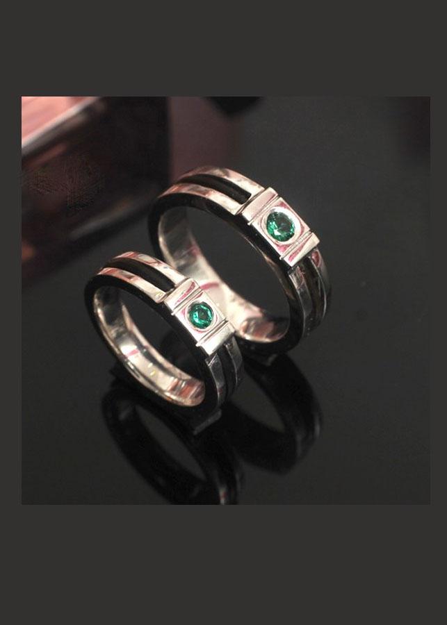 Nhẫn Đôi Lông Voi 1 xi bạch kim cỡ nhỏ 7-14 - 23329617 , 8871433007568 , 62_13580881 , 17620000 , Nhan-Doi-Long-Voi-1-xi-bach-kim-co-nho-7-14-62_13580881 , tiki.vn , Nhẫn Đôi Lông Voi 1 xi bạch kim cỡ nhỏ 7-14