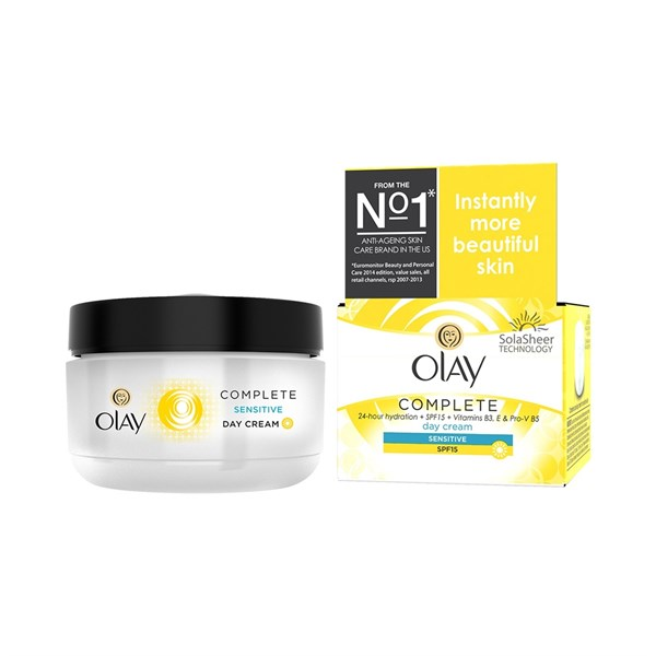 Kem ngày Olay Complete Day Cream Sensitive SPF 15