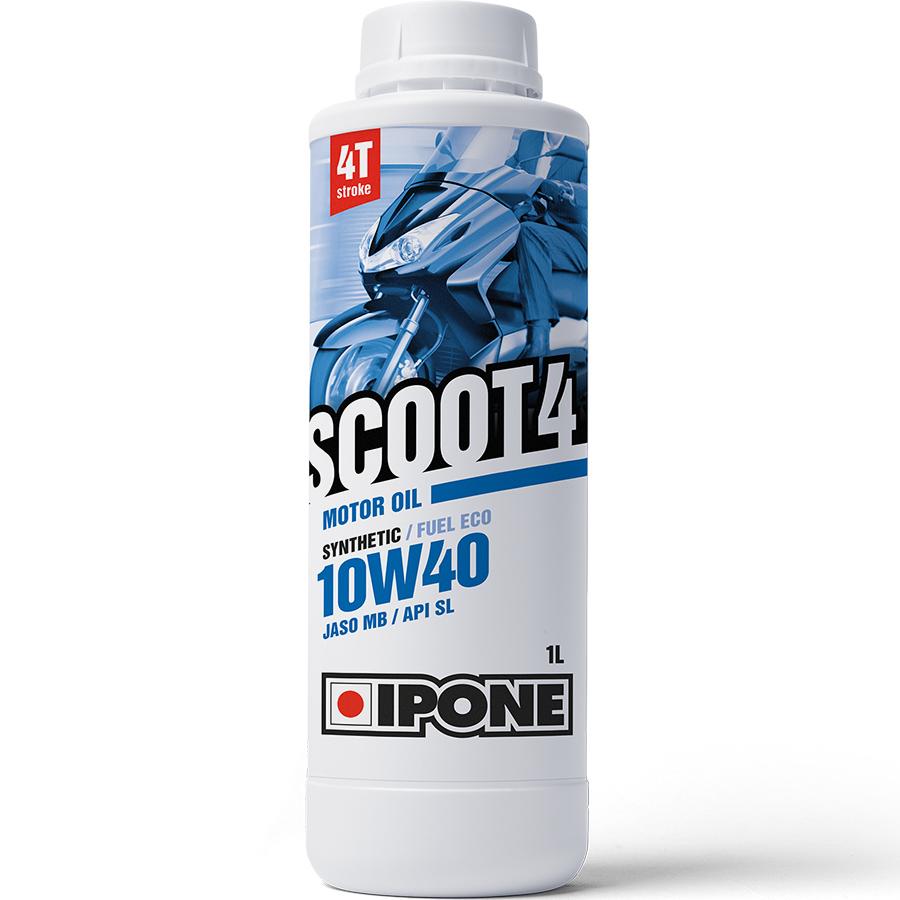 Nhớt Tay Ga 4T Scooter Ipone Scoot 4 10W-40 (1L) - Hàng Chính Hãng
