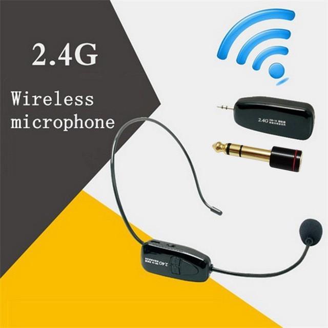 MICRO không dây đeo tai trợ giảng, hát karaoke, livestream G18