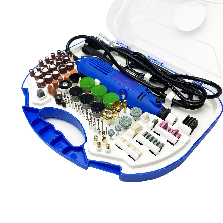 Bộ máy khoan mài đa năng - Máy khoan mài khắc mini HA8-211B