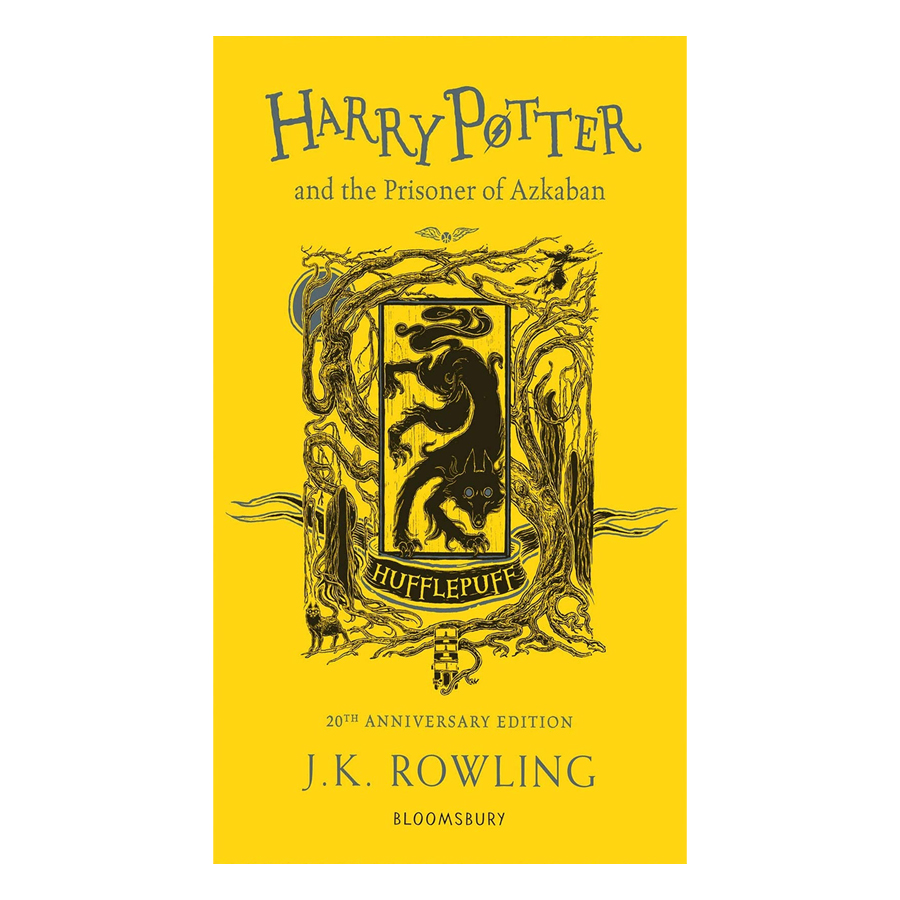 Harry Potter and the Prisoner of Azkaban Hufflepuff Edition Paperback English Book