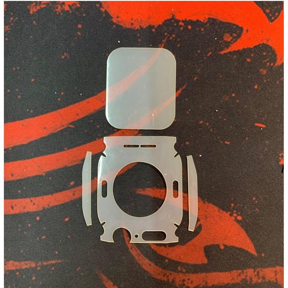 Dán PPF Dành Cho Apple Watch Full Mặt Trước Mặt Sau 38mm 40mm 42mm 44mm - Seri 4 - 38mm