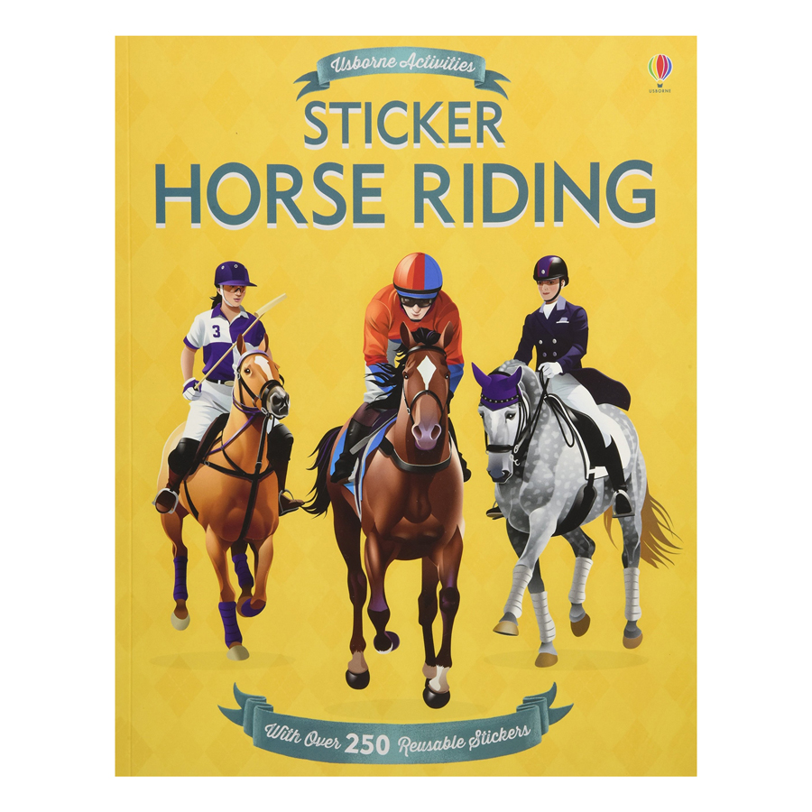 Usborne Sticker Horse Riding