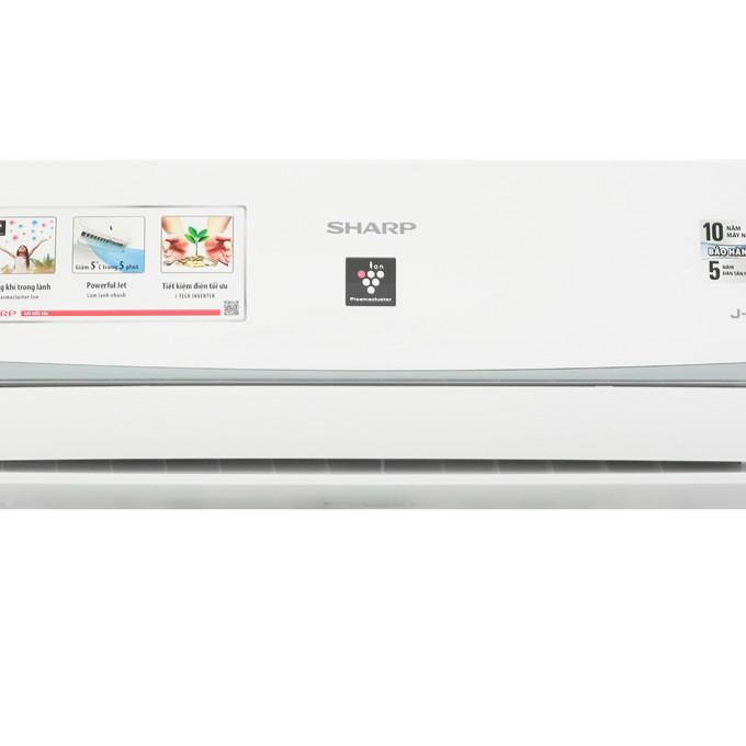 Máy lạnh Sharp Inverter 1.5 HP AH-XP13WMW Mẫu 2019 - Hàng Chính Hãng