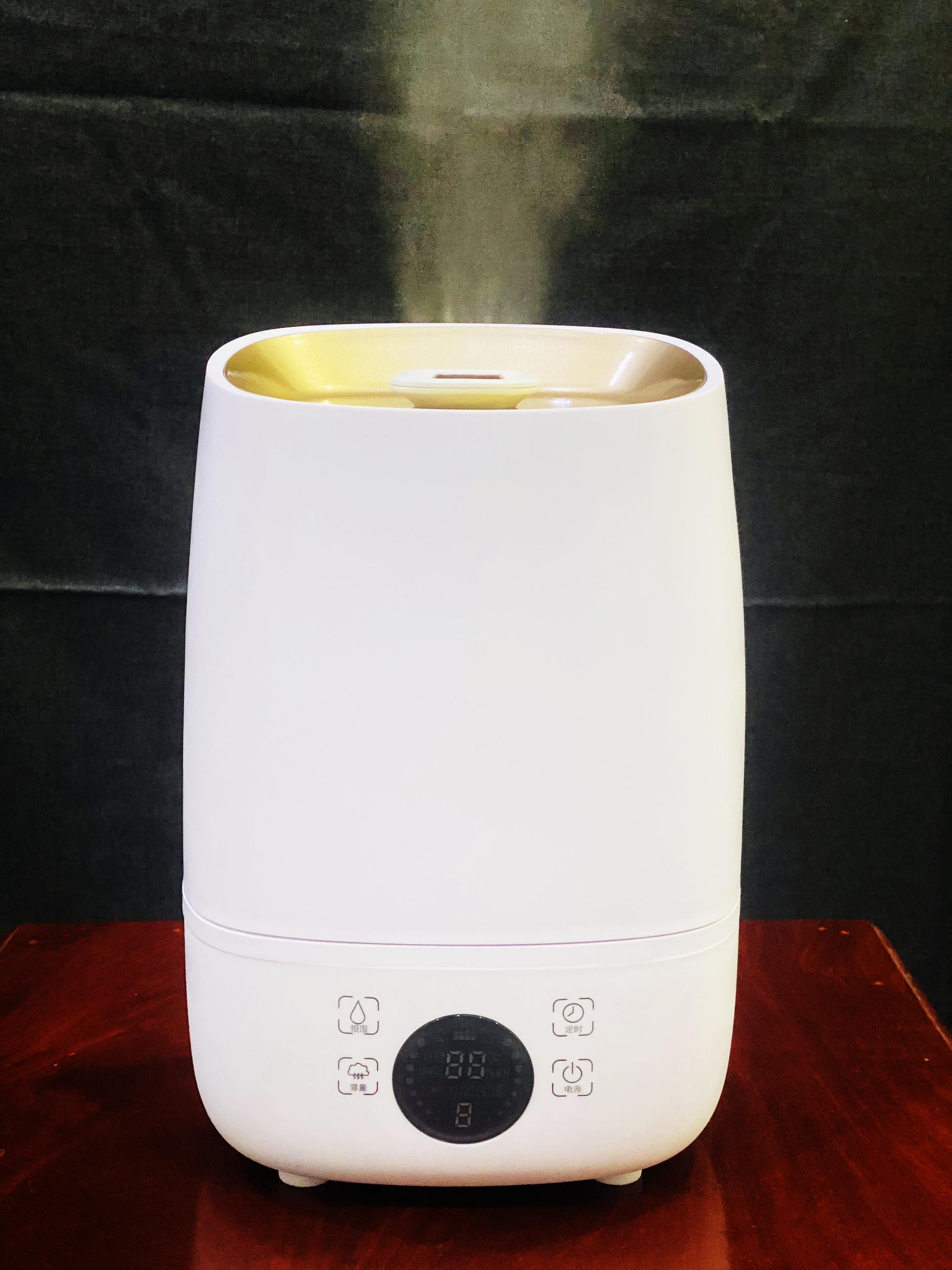 Máy phun sương tạo ẩm khử mùi diệt khuẩn gia đình màn led thông minh lạo lớn 4 lít