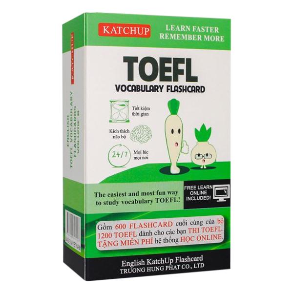 Combo Trọn Bộ KatchUp Flashcard TOEFL - High Quality