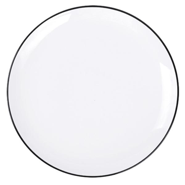 Đĩa Nordic Sense sứ trắng bóng