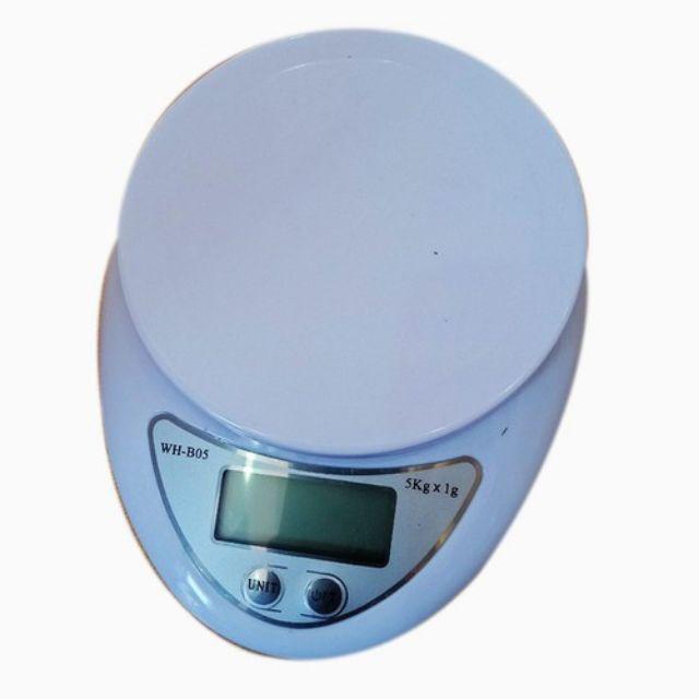 Cân Tiểu Ly Điện Tử Electronic 5kg - Dùng trong nhà bếp, Nguyên vật liệu nấu ăn