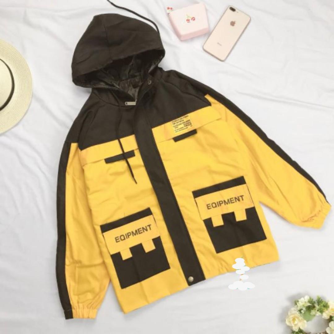 Áo khoác kaki nữ / áo khoác kaki nam / áo khoác cặp đôi / áo kaki cặp đôi / áo khoác kaki túi hộp / áo khoác form rộng