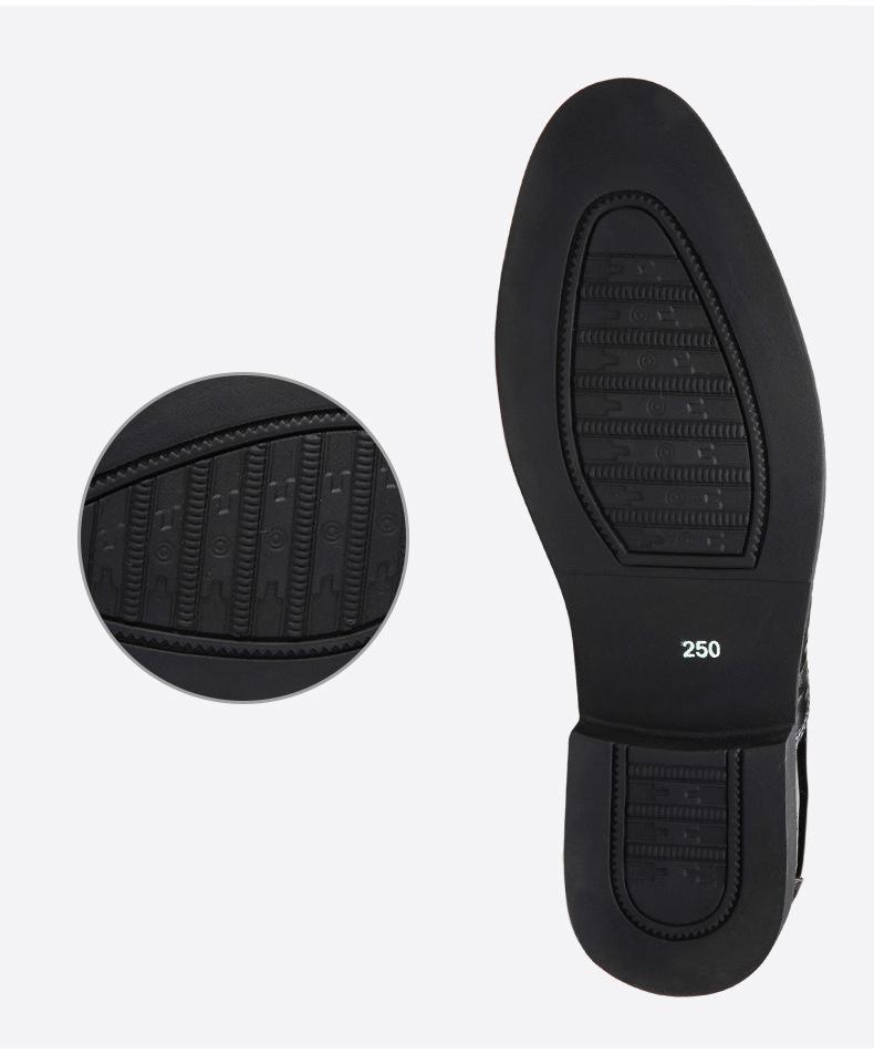 Giày Nam Công Sở 07 - Giày Da Nam - Kiểu Dáng Lịch Lãm, Đẳng Cấp Phái Mạnh - Khóa Kéo Bên Hông Nổi Bật - Đủ Size Từ 39-44 - Hàng Cao Cấp, Chuẩn Form Dáng