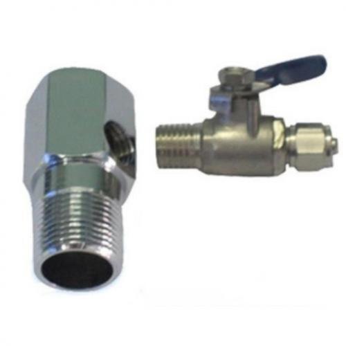 Bộ khẩu + khóa cấp nước đầu vào máy lọc nước RO - Hàng chính hãng