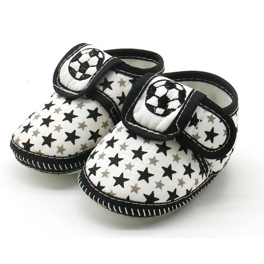Giày tập đi cho bé trai, giày tập đi cho bé gái đế mềm chống trượt họa tiết đáng yêu dn20051501