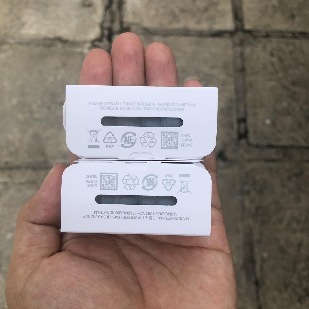 Tai nghe Nhét Tai Dành Cho Samsung Note 10/ 10 Plus - Jack Cắm Type C - Trắng