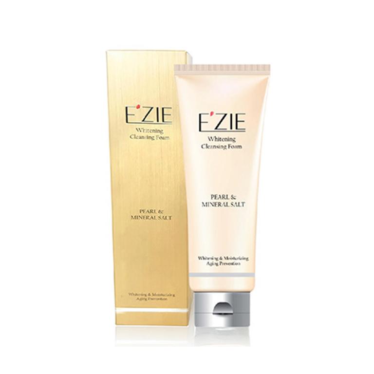 Sửa Rửa Mặt Làm Trắng Da Ngọc Trai và Muối Khoáng  EZIE Whitening Cleansing Foarm 130ml