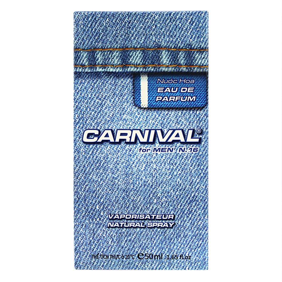 Nước Hoa Nam Carnival N16 (50ml)