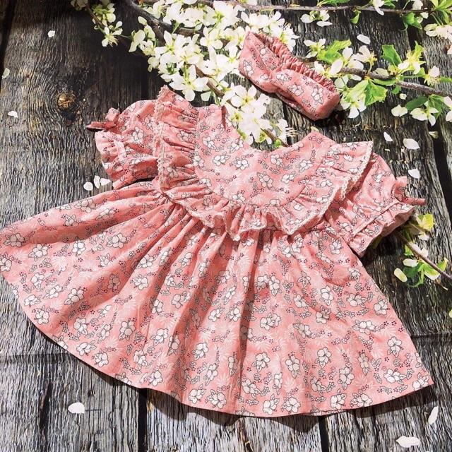 Váy đầm Thời Trang Hàng Thiết Kế Cao Cấp cho bé từ 1 - 8 Tuổi