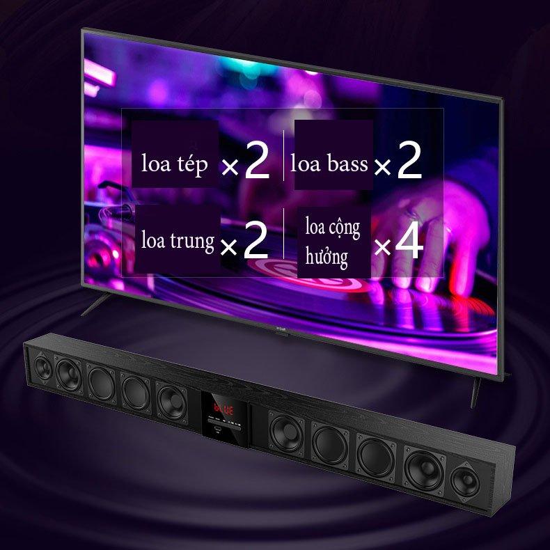 loa thanh âm thanh nổi 3D smart tivi Amoi L04 ( Có phíc cắm đa năng ) ( hàng nhập khẩu )