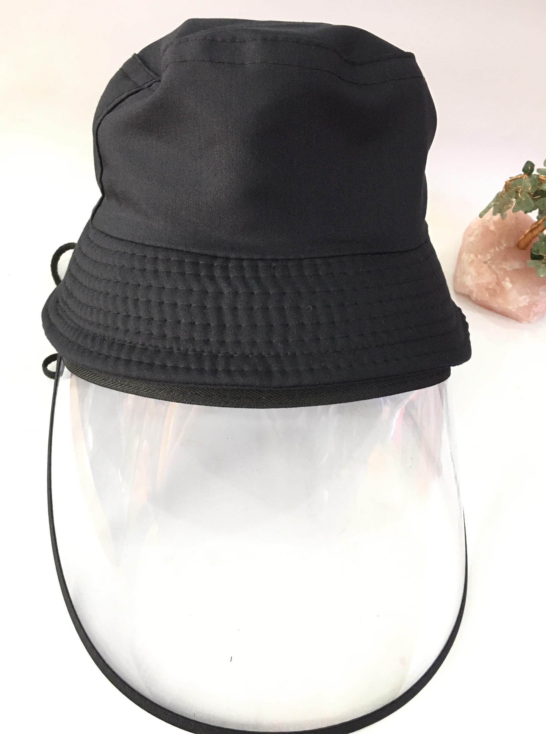 Combo 10 cái Nón vải có kính nhựa bảo vệ mắt chống giọt bắn, khói bụi - nhiều màu