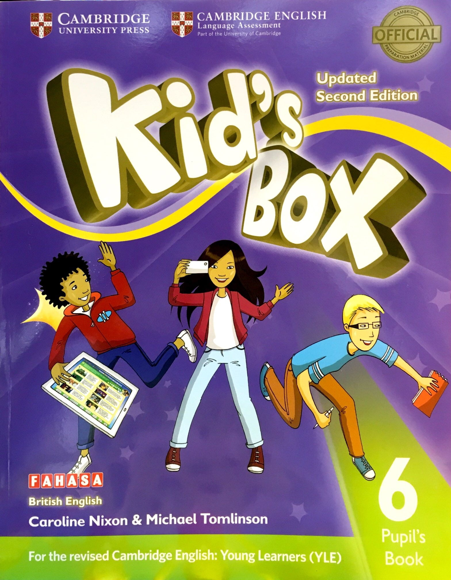 Kid's Box Second edition Pupil's Book Level 6