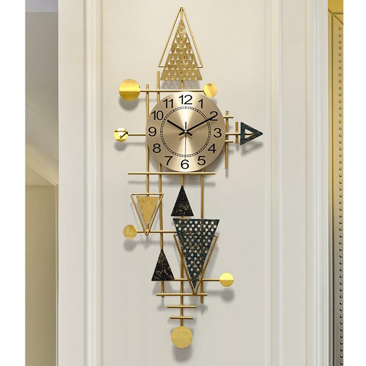 Đồng hồ phù điêu treo tường nghệ thuật trang trí phòng khách