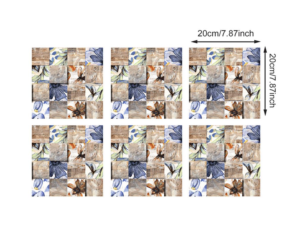 Decal dán tường decal gạch bông họa tiết trang trí mã fx712