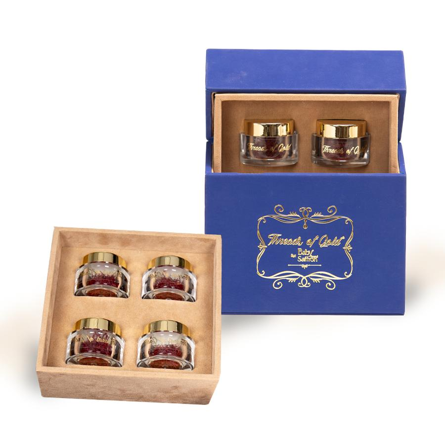 Combo Nhụy Hoa Nghệ Tây Premium Saffron - Threads of Gold (Premium Product  of Baby Brand) Hộp 4 Gram - Sản phẩm thiên nhiên làm đẹp Nhãn hiệu Baby  saffron   MuaDoTot.com
