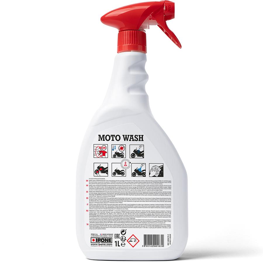 Chai Xịt Tẩy Rửa Siêu Sạch Tạo Bọt Ipone Moto Wash (1L) - Hàng Chính Hãng
