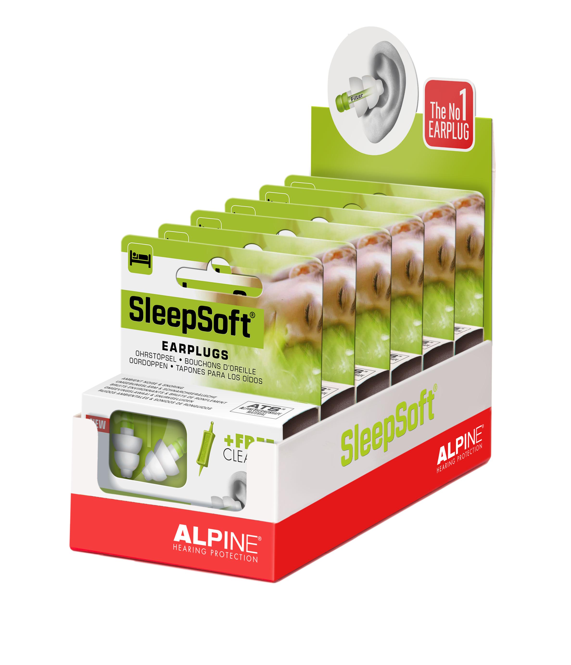 Nút bịt tai ngủ ngon SleepSoft - Nhập khẩu Hà Lan