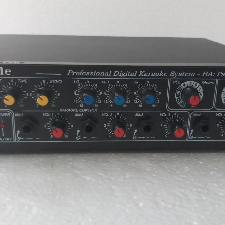 Ampli karaoke Oriole 220V hoặc 12V chính hãng