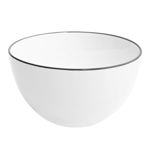 Combo 4 Bát cơm Nordic Sense sứ trắng bóng
