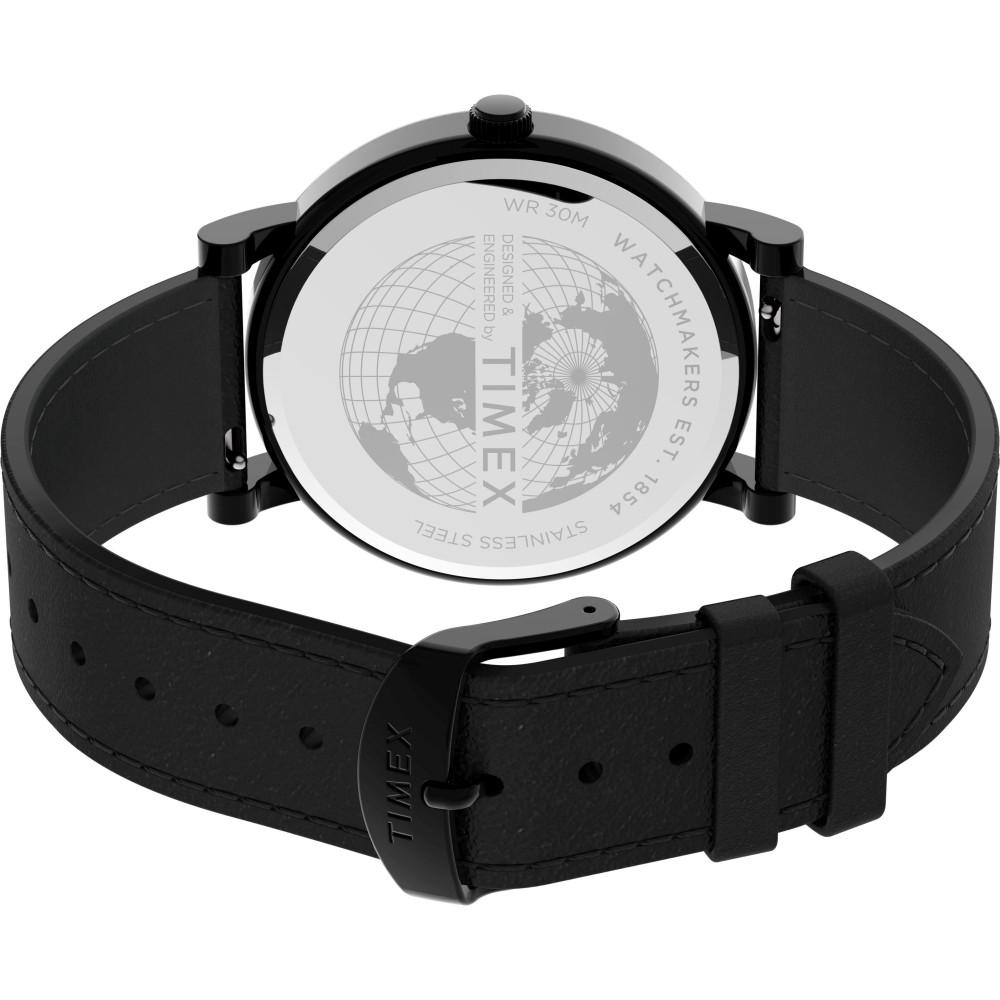 Đồng hồ Timex Originals 42mm Leather Strap Watch TW2U05700