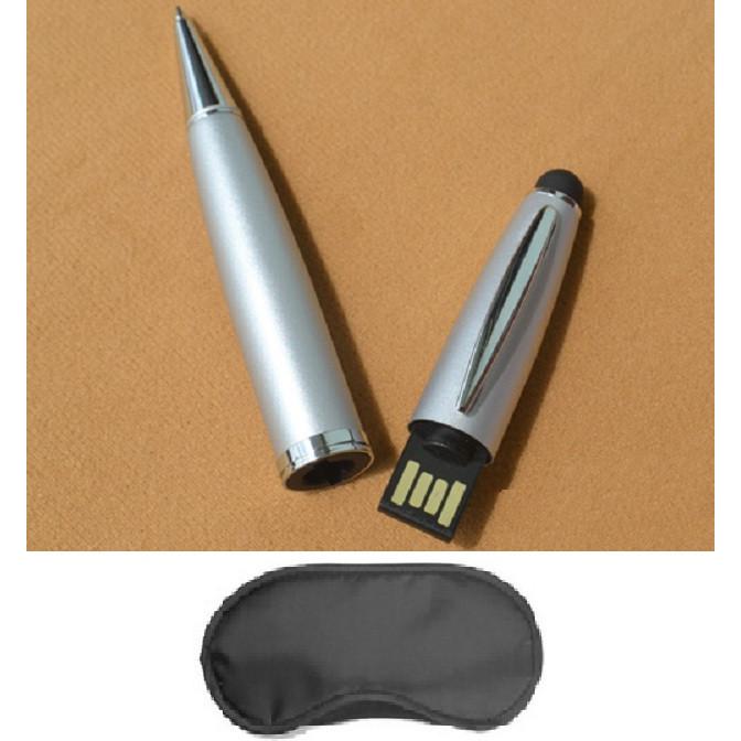 USB CÂY BÚT VIẾT 8G  +TẶNG BỊT MẮT NGỦ