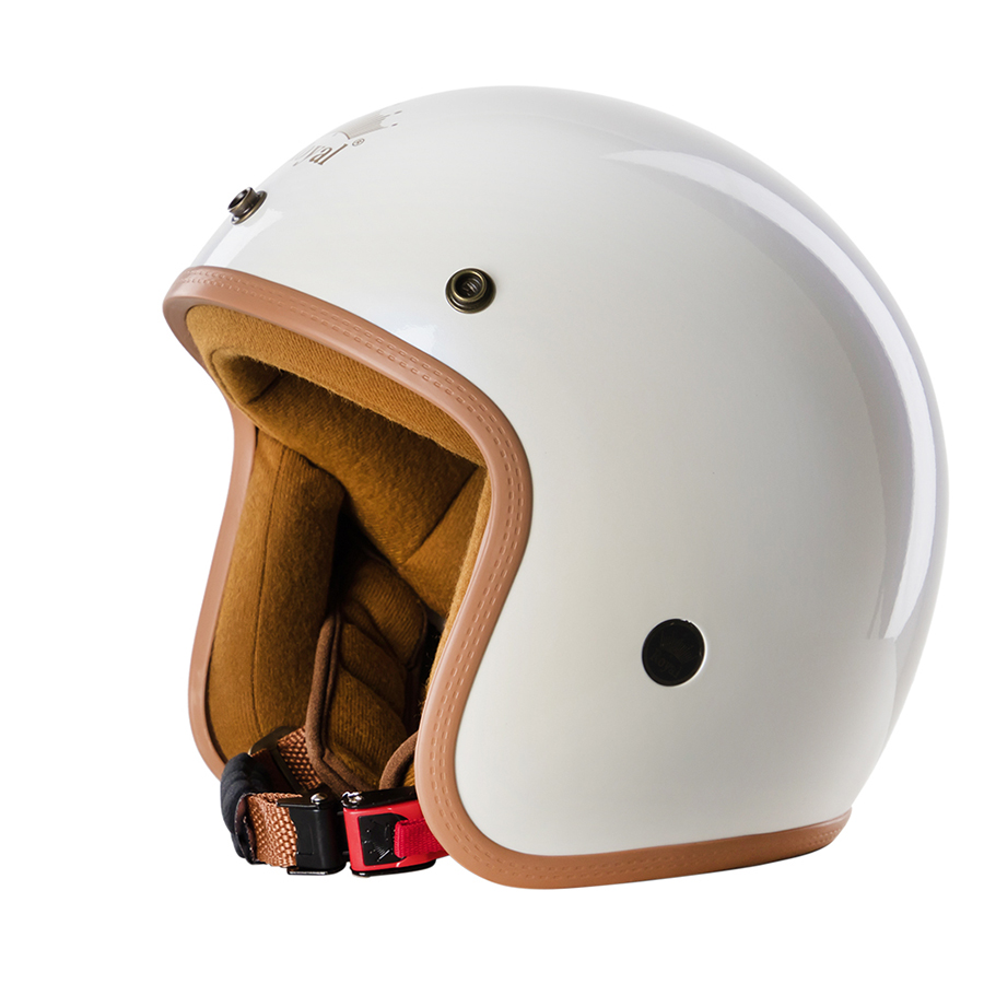 Mũ Bảo Hiểm Royal 3/4 M20B - Trắng bóng