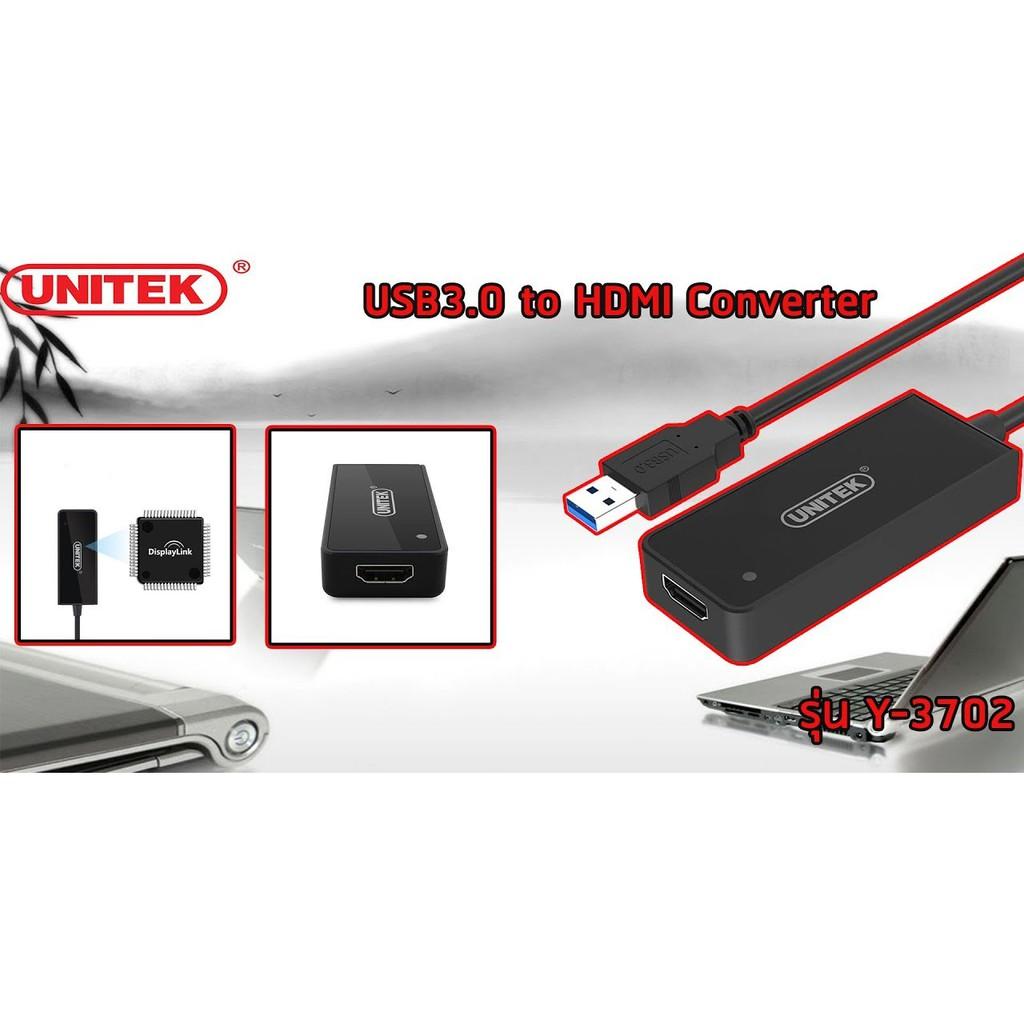 Bộ Chuyển USB Sang HDMI  Unitek Y-3702 - Hàng Chính Hãng