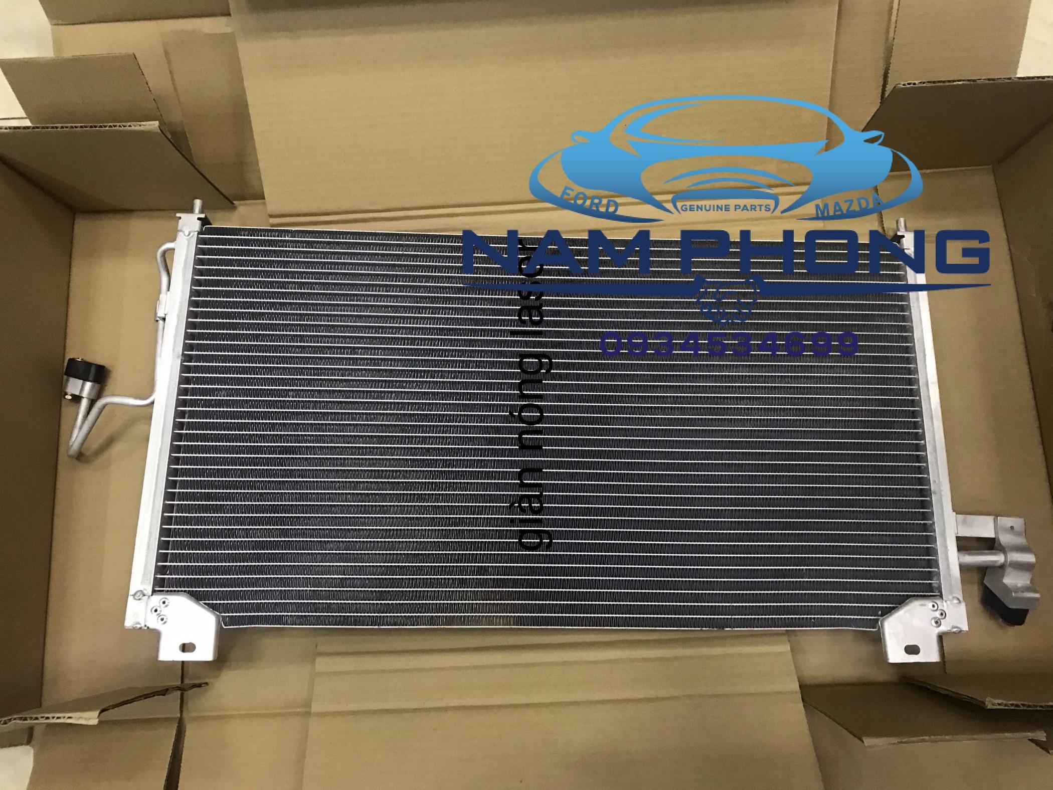 Giàn nóng Laser - B25P61480B , Sử dụng cho các dòng xe Ford  Laser TỪ ĐỜI  2001 –  2005 , CONDENSER