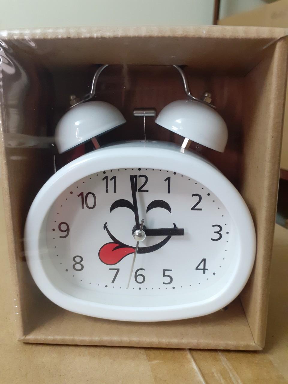 Đồng hồ báo thức để bàn Chuông to 803