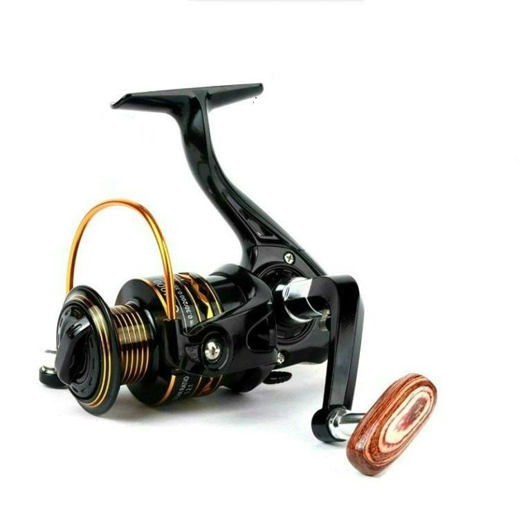 Bộ cần câu cá - Kèm máy ngang kim loại GF - máy 4000 - Kèm nhiều phụ kiện MCH67