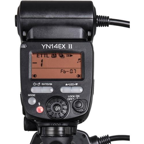 Đèn Flash Yongnuo 14EX II TTL Macro Ring Flash Kit for Canon Hàng nhập khẩu