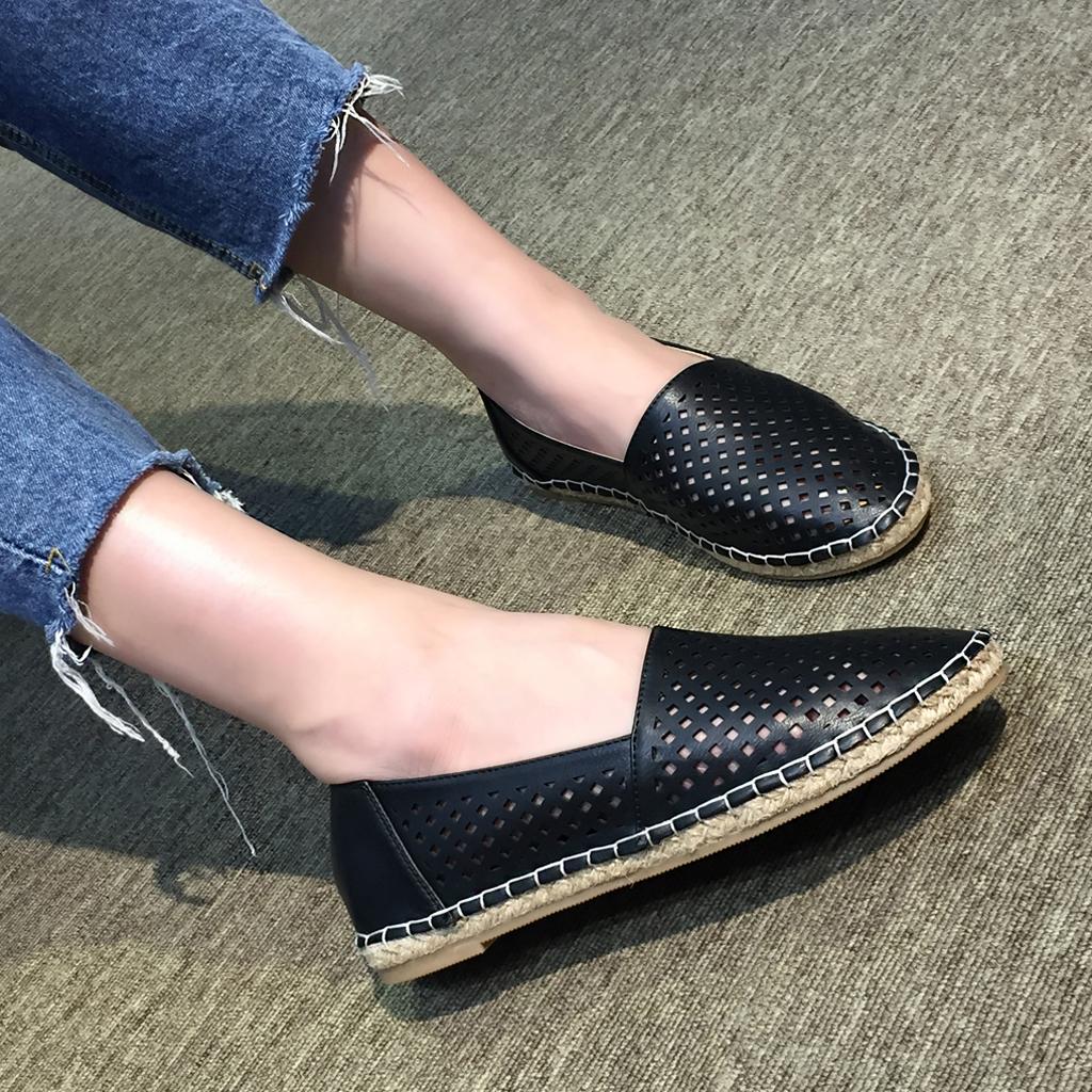 Giày Slip On nữ Thái Lan màu đen Black đẹp tuyệt vời tôn dáng chị em, chất đẹp, mềm êm ngay lần sử dụng đầu tiên