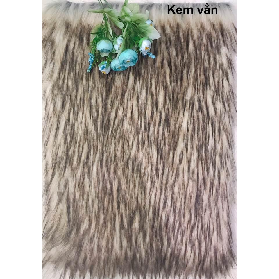 Thảm lông chụp ảnh nhiều màu size 40x50cm