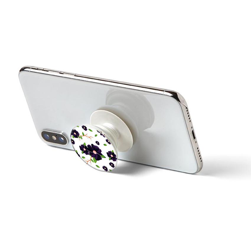 Gía đỡ điện thoại đa năng, tiện lợi - Popsockets - In hình FLOWER 02 - Hàng Chính Hãng