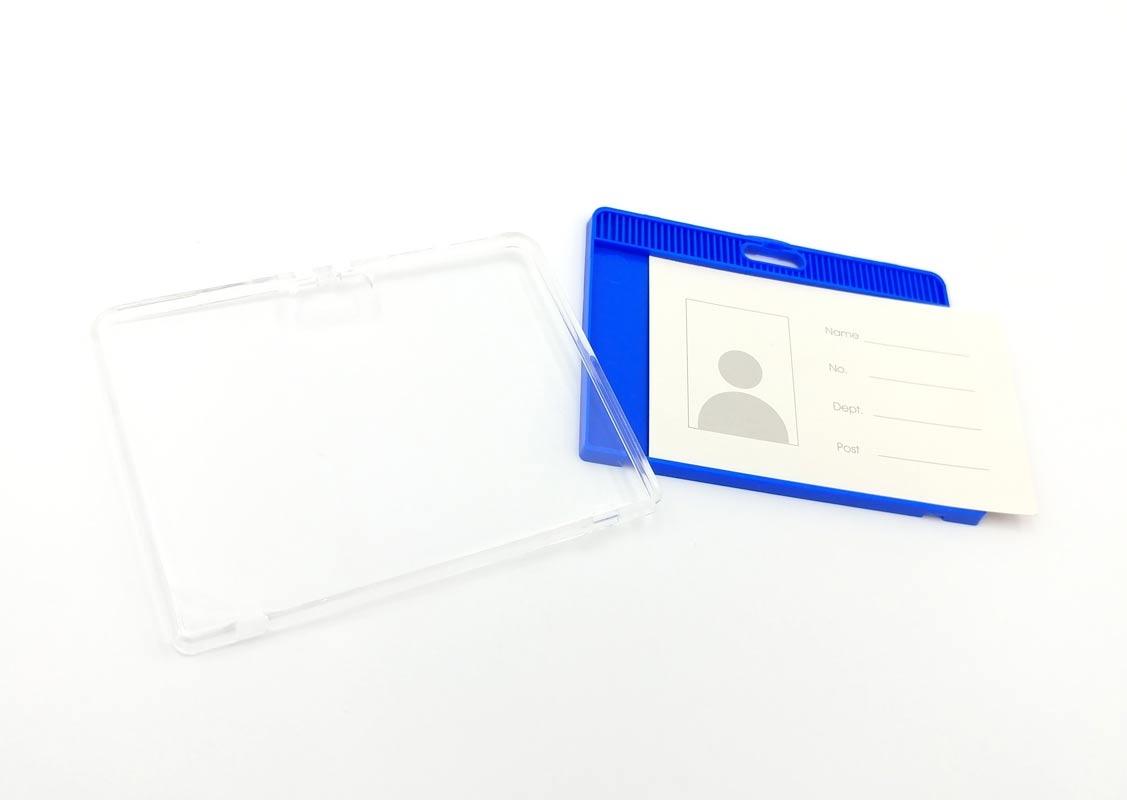 Bộ 2 Bảng Tên Nhựa Cứng ID6617 - Màu Xanh Đậm