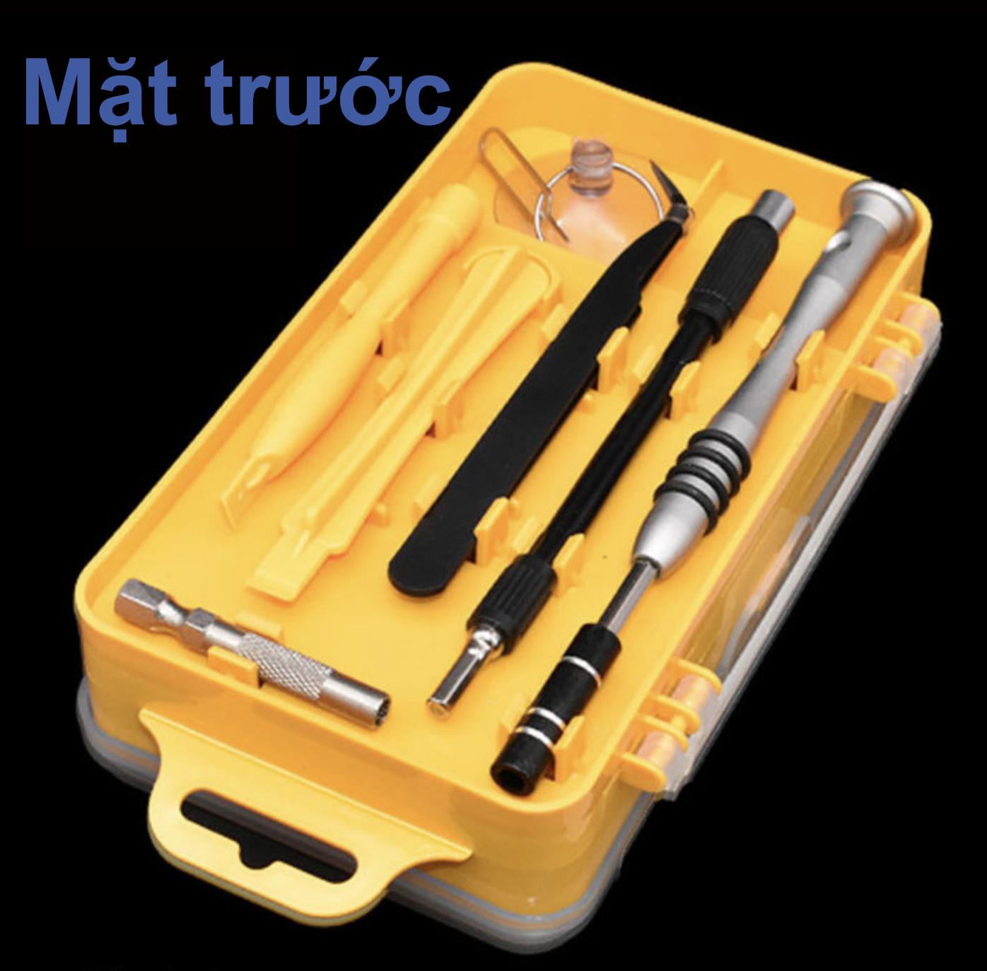 Bộ công cụ tua vít chuyên sửa chữa tháo lắp điện thoại laptop bỏ túi 110 in1 (full 98 đầu vít) - sử dụng tốt cho thiết bị iphone mac xiaomi samsung