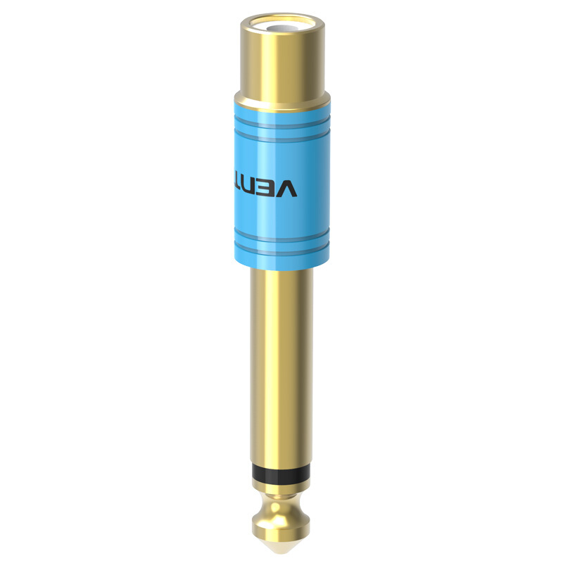 Đầu chuyển Audio 6.5mm Male to RCA Female Vention VDD-C03 - Hàng chính hãng
