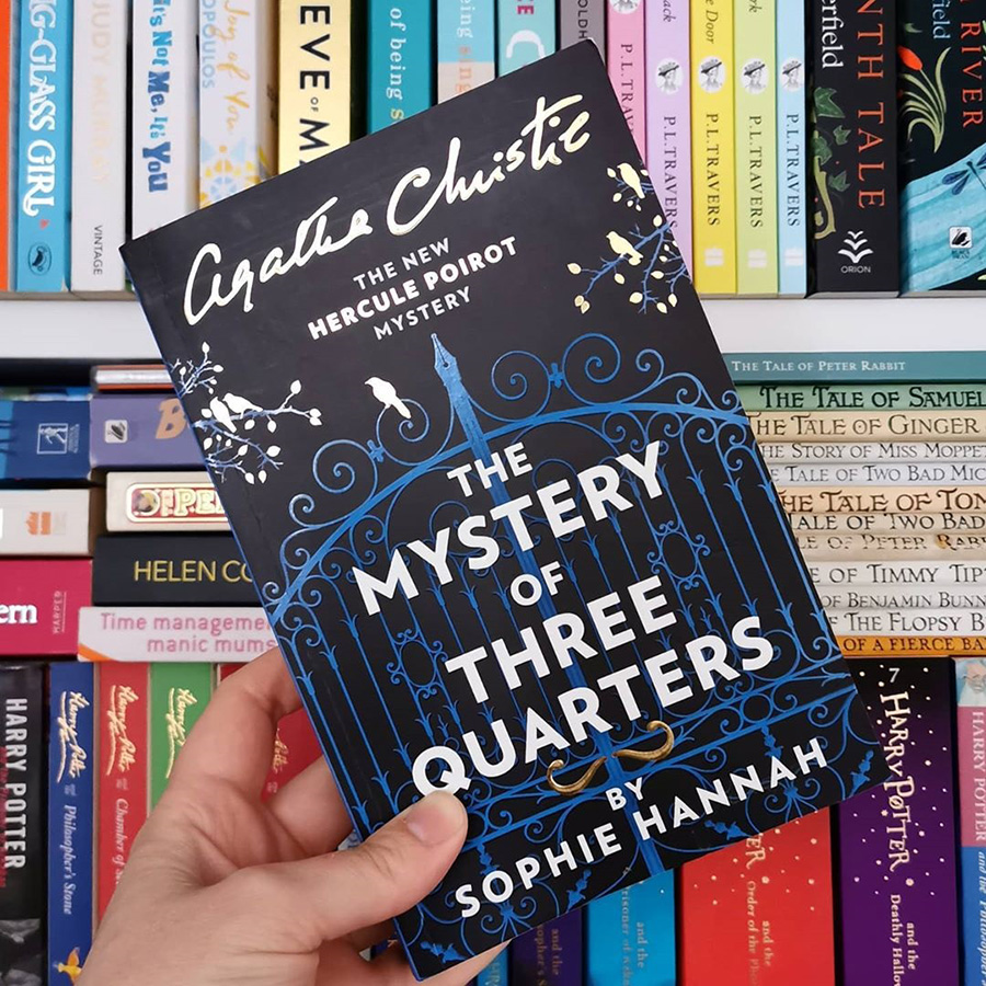 The Mystery of Three Quarters: The New Hercule Poirot Mystery (Created by Agatha Christie)