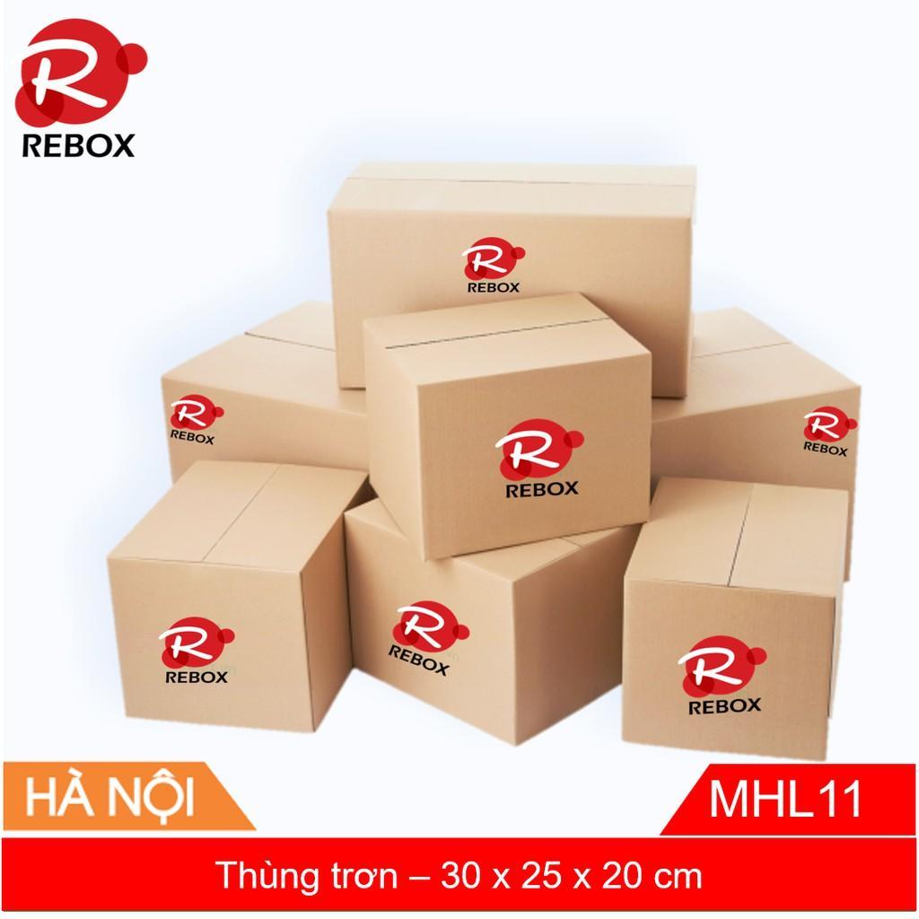 Hộp 30x25x20 cm - Combo 10 thùng carton siêu dày giá xưởng